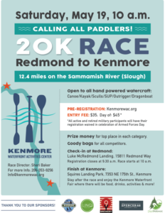20K Redmond to Kenmore Race